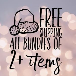 FREE SHIPPING all BUNDLES of 2 or more items